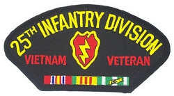 25th Infantry Division Vietnam Veteran Patches